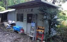道具小屋ができました