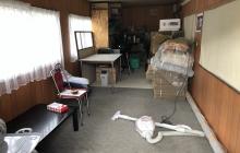 物置小屋をぴりか豚発送センターに大改造!