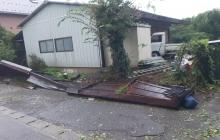 台風により過去最大の被害を受けました