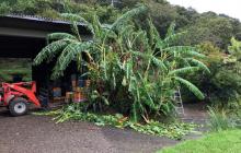 台風10号被害